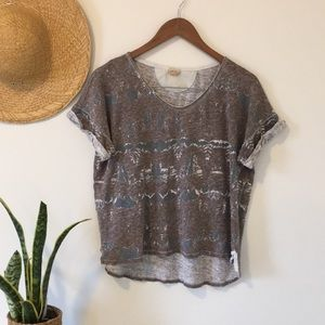 Unique Wilfred Free Abstract Tshirt Size Medium